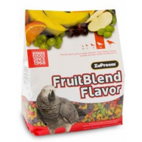 Zupreem fruit blend flavor ML loros